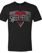 MENS STEELHEART VINTAGE T-SHIRT